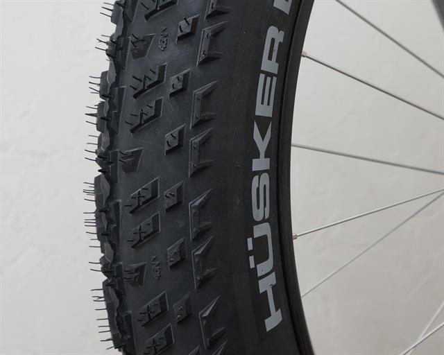 45NRTH Husker Du  fat bike tire on a rolling resistance test machine