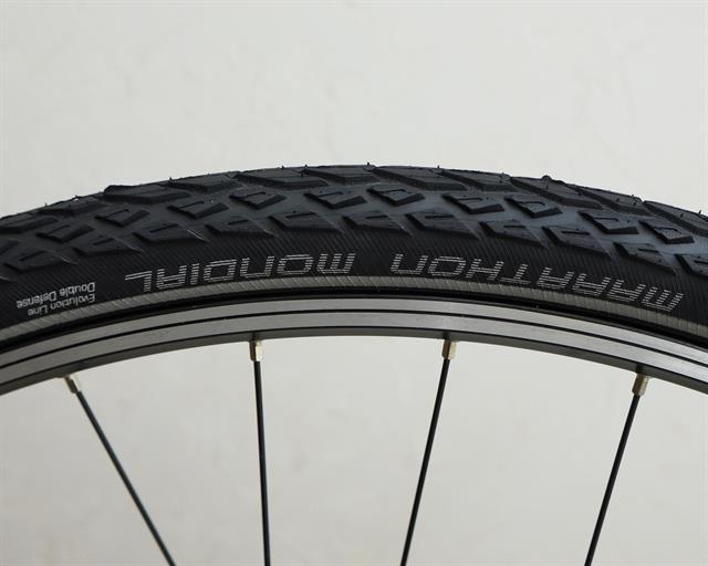 "Schwalbe Marathon Mondial 50-559 Touring Bike Tyre HS428 26x2.0/"" Raceguard 26/"""