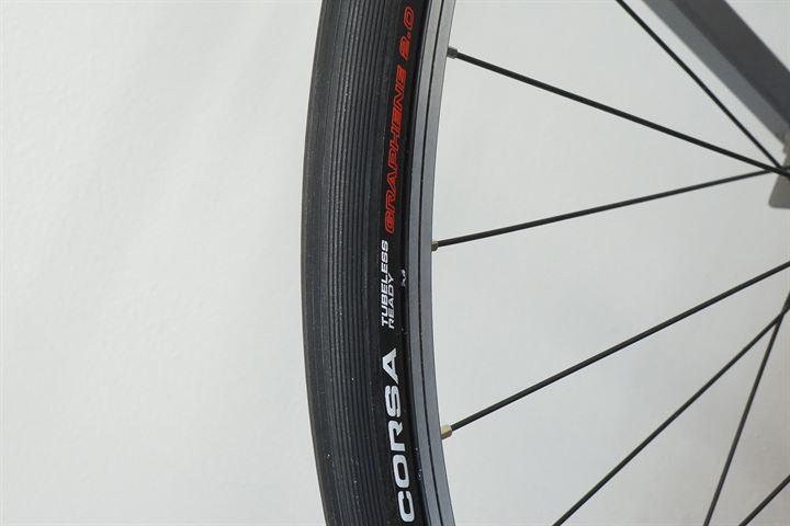 Vittoria Corsa TLR G 2.0 Clincher Tubeless Ready 700x25C Black Tire Road Bike